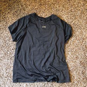 UA Striped Short Sleeve T-Shirt